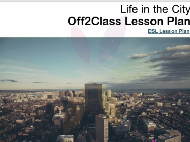 Life In The City Free Off2Class ESL Lesson download