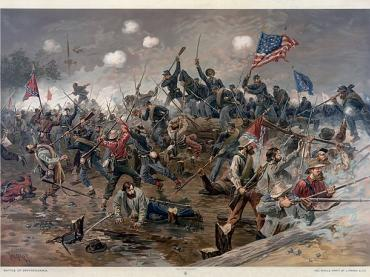 CIVIL WAR SOLDIER'S EXPERIENCE 2016
