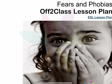 Fears and Phobias Free ESL Lesson Download