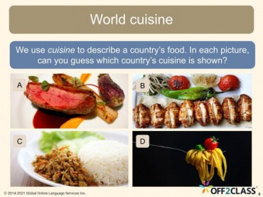Interview With Chef Drolet Off2Class ESL Reading Lesson Download