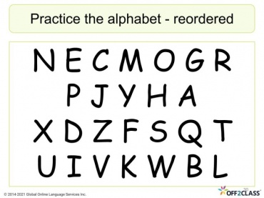 Alphabet Lesson 3/3 Free ESL Lesson Download