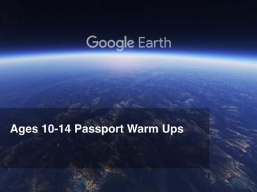 Google Earth Education: Grades 6-8 Passport Warm Ups