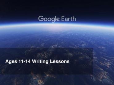 Google Earth Education: Writing Lessons Grades 6-8
