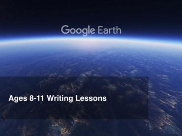 Google Earth Education: Writing Lessons Grades 4-5