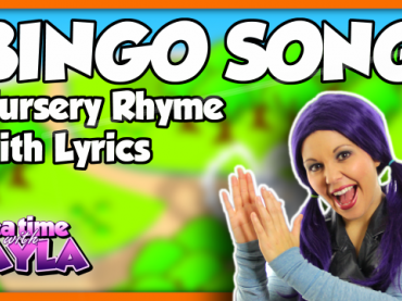 BINGO Dog Song for Children | Nursery Rhymes with Lyrics | Kids Songs on Tea Time with Tayla