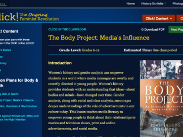 The Body Project: Media's Influence