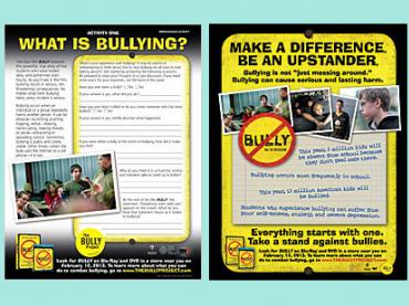 Make a Difference Be an Upstander-Bully Prevention