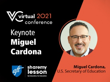 Keynote: Priorities to Support Our Students: A Conversation with U.S. Secretary of Education Miguel Cardona