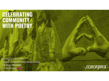 Distance Learning Packs:  Celebrating Community with Poetry