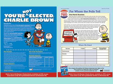 You're Not Elected Charlie Brown (election process)