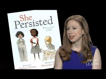 "Chelsea Clinton on ""She Persisted"""