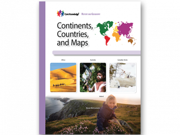 Continents, Countries, and Maps