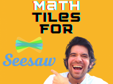 REMOTE LEARNING MATH CENTERS || Digital Math Tiles || SEESAW activities