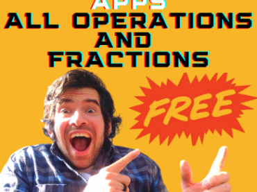 FREE MATH APPS GAMES FOR KIDS || All 4 Operations and Fractions || TEACHER HAUL