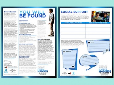 You Will Be Found: ELA Activities on Identity, Empathy, Inclusivity, and Hope Inspired by Dear Evan Hansen