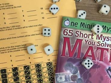 Roll of the dice (Grades 4-8; Math:  probability and statistics; critical thinking)