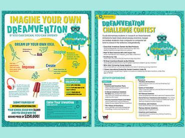 Dreamvention Challenge Contest / Teach Inventions the Fun Way