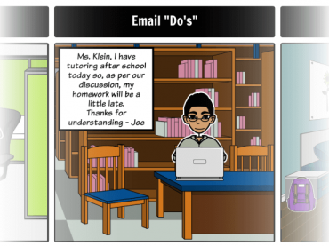 Teaching and Practicing Email Etiquette