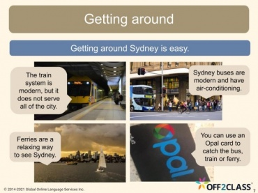 Off2Class Free ESL Reading Lesson-5 Things To See In Sydney
