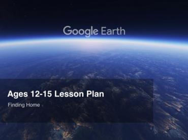 Google Earth Education: Lesson Plan Ages 12-15