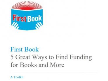 First Book: 5 Great Ways to Find Funding for Books and More