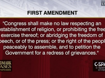 1st Amendment Freedoms Choice Board