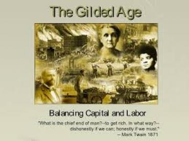 GILDED AGE - THE CORRUPTING OF NEW YORK CITY