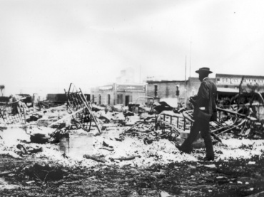 GREENWOOD MASSACRE:  TULSA RACE RIOTS OF 1921