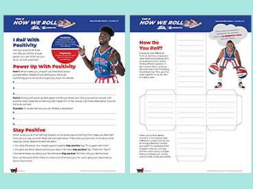 Harlem Globetrotters self-esteem activities