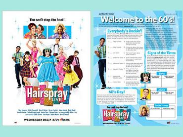 Hairspray Live! -- explore the music, culture and trends of the 60s (NBC 12/7)