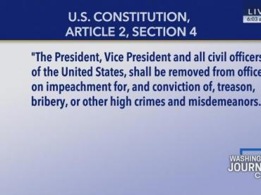 Lesson Plan: How should the Congress interpret the standard for impeachment?