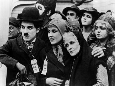 LESSON PLAN:  AMERICANS AT THE MOVIES, FEATURING CHARLIE CHAPLIN'S THE IMMIGRANT