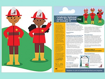 Celebrate National Junior Fire Marshal Day (Oct 6 free event)