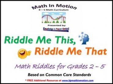 KP Math in Motion Riddle