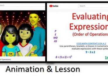 KP Math In Motion Animation & Lesson