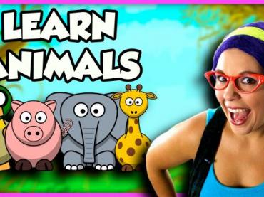 Learn Animal Sounds | Learn Animals for Children | Animal Game for Kids on Tea Time with Tayla
