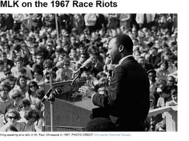 MLK on the 1967 Race Riots
