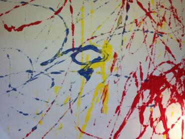 Marble Painting (Reading Activities)
