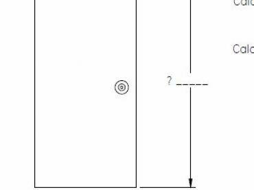 Measure door activity and calculate the angle