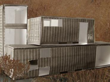 Build a Scale Model of a Shipping Container Home