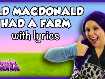 Old MacDonald Had a Farm Nursery Rhyme Lyrics | Kids Songs and Nursery Rhymes