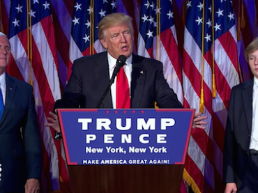 President Elect Donald Trump's Victory Speech (Video and Transcript)