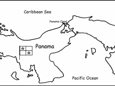 Panama - Printable Handout / Interactive Notebook Activity