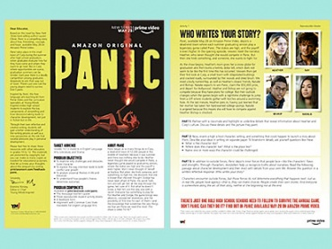 Explore and Teach Storytelling with Panic — a new series on Amazon Prime