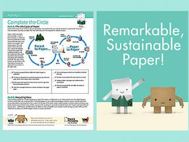 Remarkable Sustainable Paper! (a look at sustainability and recycling)