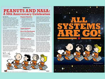 Peanuts and NASA: A 50th Anniversary Celebration