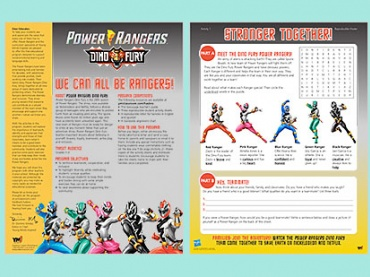 We Can All Be Rangers!: Reinforce Teamwork, Cooperation, and Inclusion in Classrooms with POWER RANGERS!