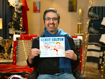 Henry Holton Takes the Ice read by Ray Romano