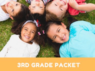 3rd Grade Social Distancing Learning Packet