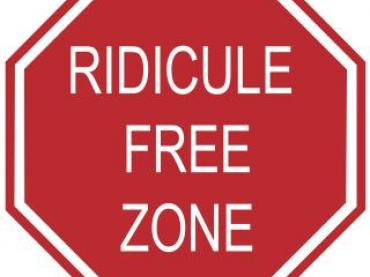 The Ridicule Free Zone